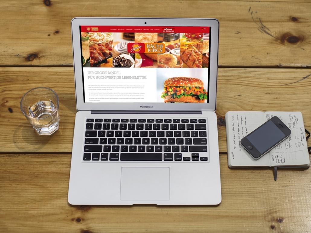 Joomla Webseite für Nacho Kings