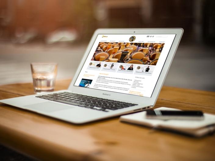 Joomla-Webseite für Drum Cafe