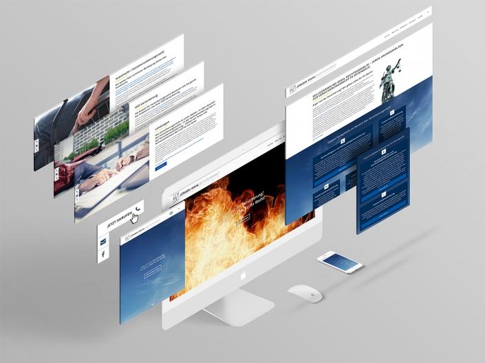 Entwicklung einer neuen Website für Rechtsanwalt Jürgen Wahl