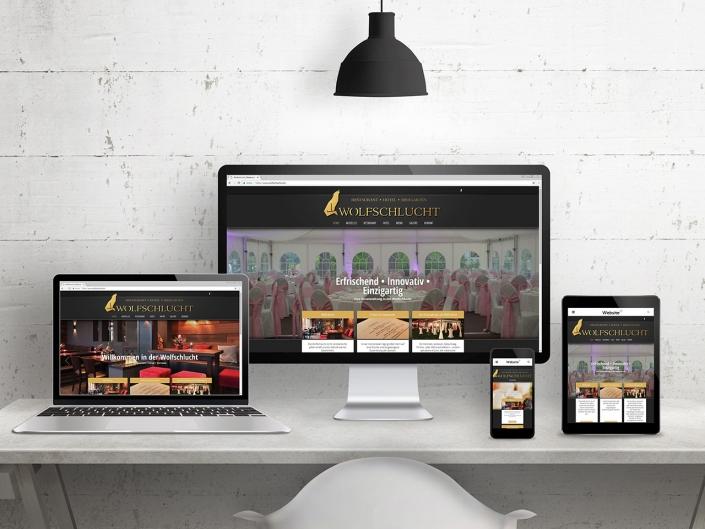 Neue Website für Wolfschlucht mit Wordpress
